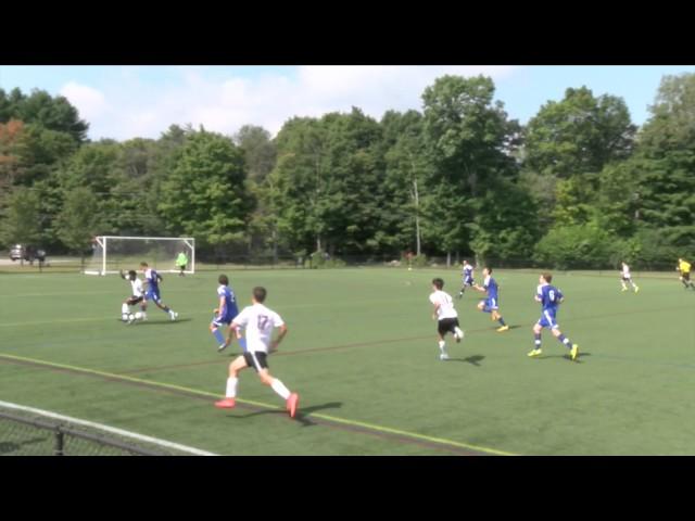Acton Boxborough Varsity Boys Soccer vs Weston 9/6/14