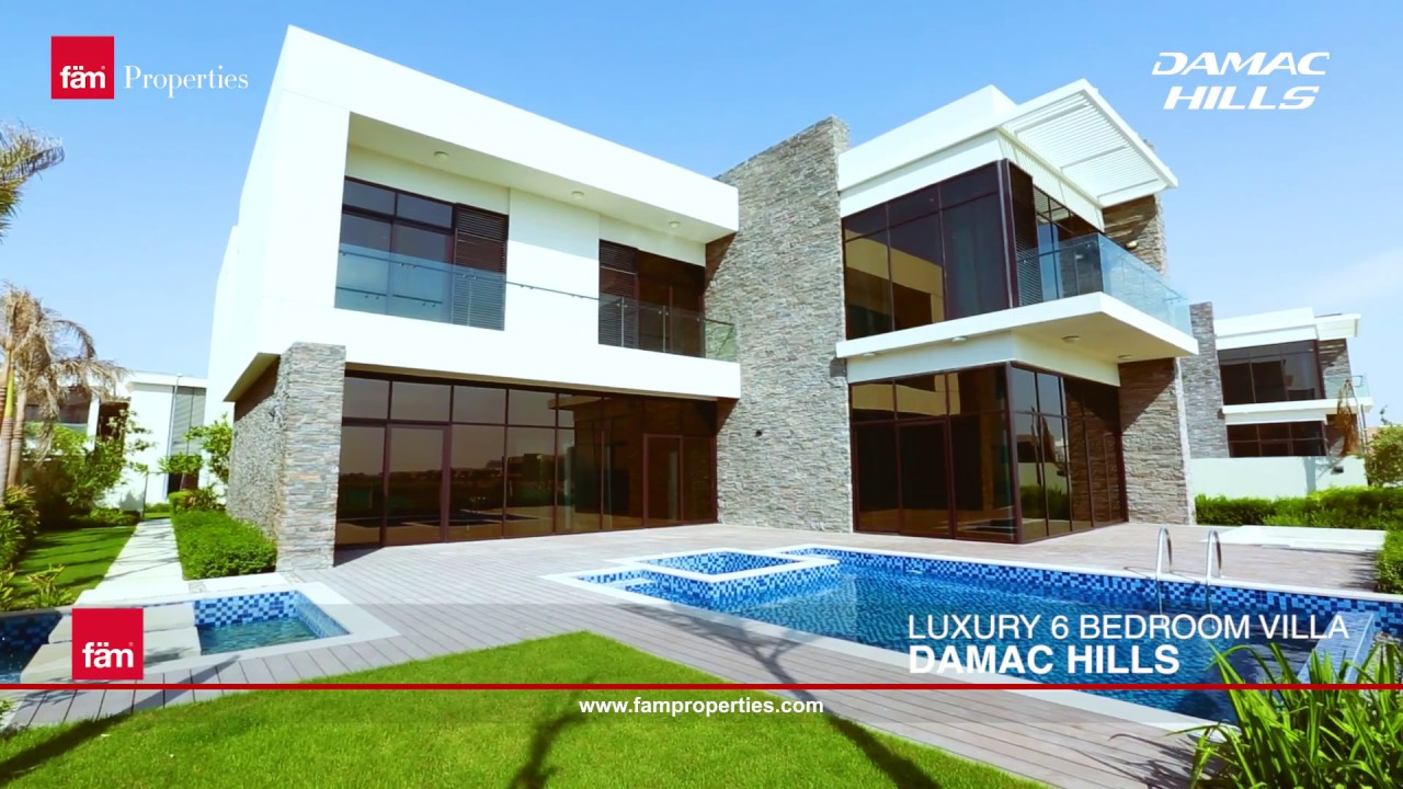 Luxury 6 bedroom villa at damac hills dubai