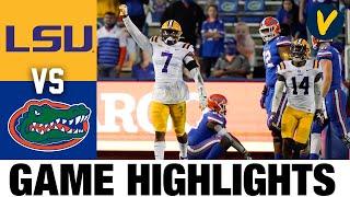 LSU Vs #6 Florida Highlights Highlights | College Football Week 15 | 2020 College Football Highlight