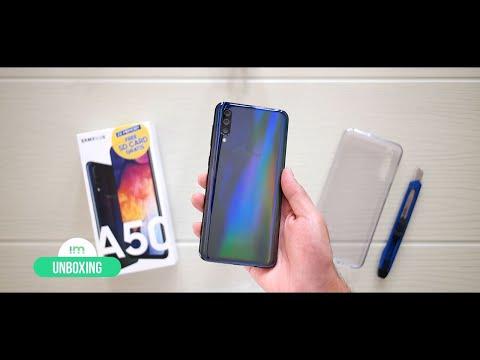 Samsung Galaxy A50 | Unboxing En Español