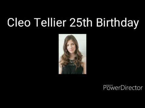 Cleo Tellier 25th Birthday