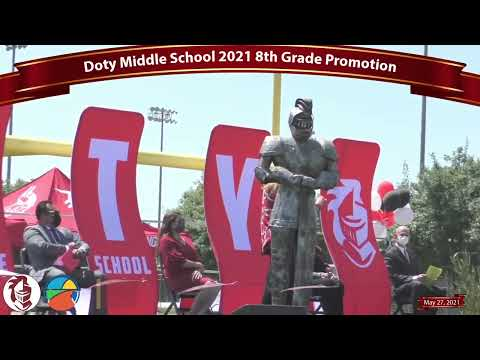 Doty Middle School 2021 Promotion