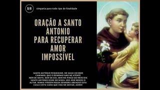 Baixar Oração a Santo Antonio Para Trazer de Volta a Pessoa Amada ( INÉDITA NO YOU TUBE )