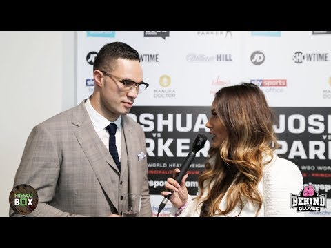 """JOSEPH PARKER ON AJ FIGHT: 'SOMEONES 0 HAS GOT TO GO AND IT AIN'T ME"""""""