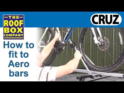 CRUZ Bici rack bike carrier - How to fit to CRUZ steel bars