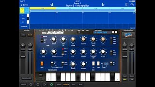 KORG Gadget Lets Compose With MONTPELLIER iMonoPoly - Demo for the iPad
