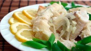 Рыба запеченная в лаваше в духовке под сметанным соусом