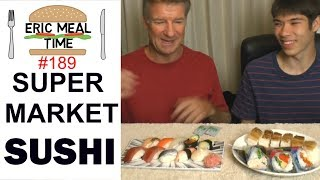 Supermarket SUSHI in Japan - Eric Meal Time #189