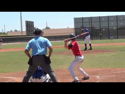 Parker Bugg 2011 USA Baseball, Jr  Olympic 16U Tournament at Seattle Mariners Complex, San Diego Show vs Rawlings Elite