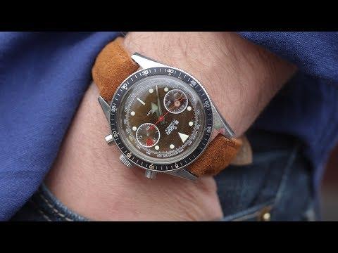 Ever wear a vintage chronograph THIS good?? | Lug2Lug