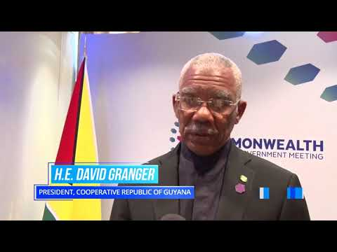 Guyana and Mozambique recommit to strengthening relations on sidelines of CHOGM 2018