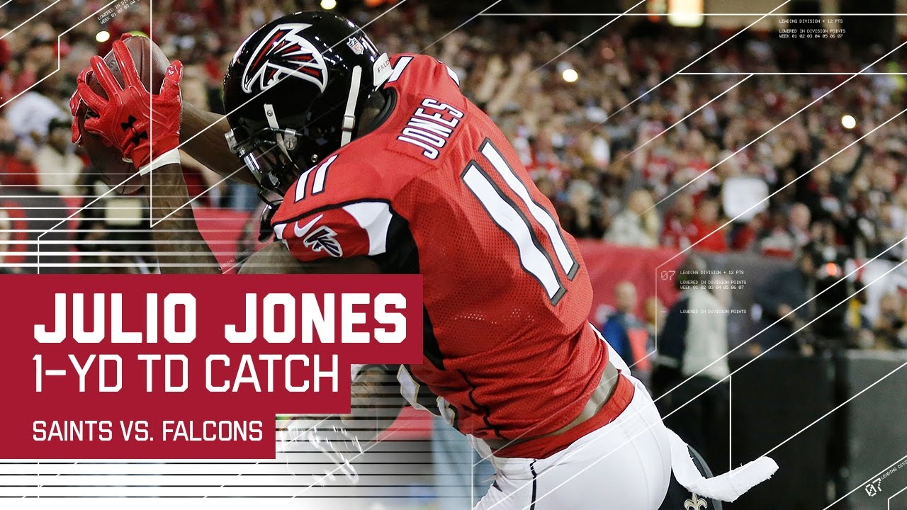 Julio Jones' Clutch Catches Extend the Falcons Lead!  NFL Week 17 Highlights