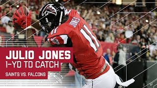 Julio Jones' Clutch Catches Extend the Falcons Lead! | NFL Week 17 Highlights