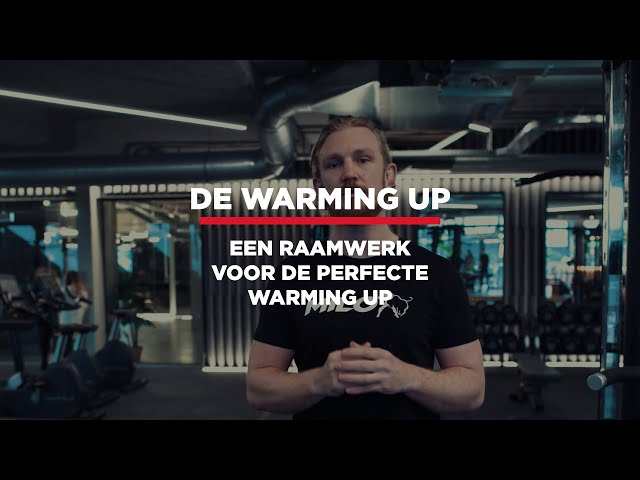 Wat is de perfecte warming up? Een raamwerk.⠀