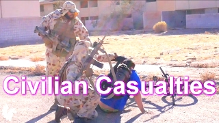 Civilian Casualties in Fetty City (Milsim West: The Kazakh Insurgency | Part 3) AIRSOFT GAME