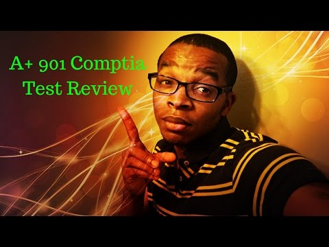 Comptia 901 A+ Test Review (F-the Book)