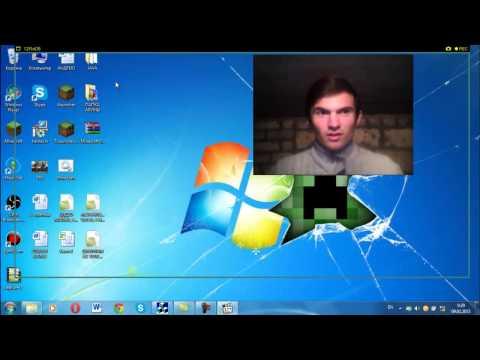 Как записывать видео с веб-камеры и с приложений одновременно