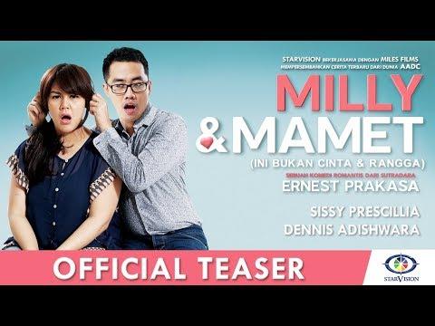 MILLY & MAMET (Ini Bukan Cinta & Rangga) - Official Teaser #1 Mp3