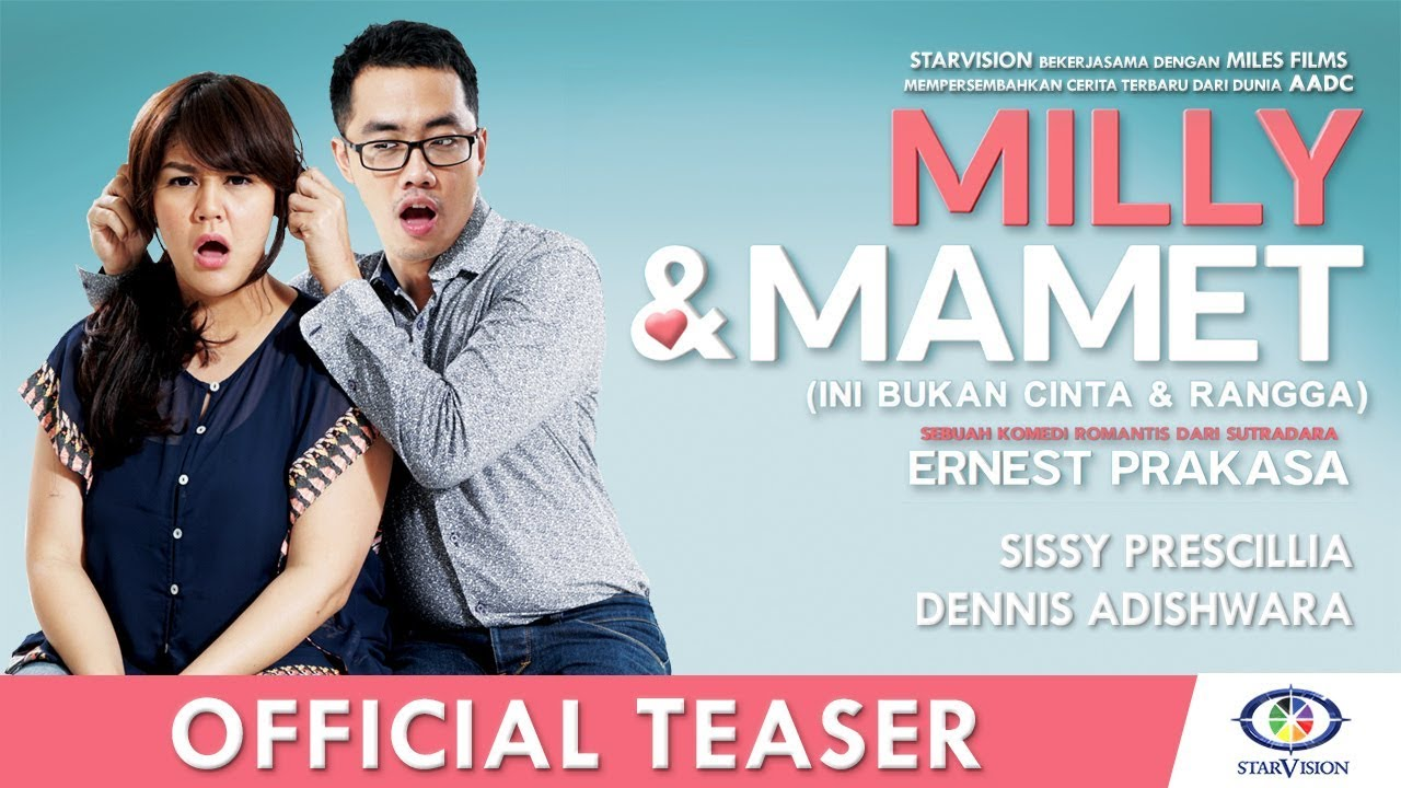 Download MILLY & MAMET (Ini Bukan Cinta & Rangga) - Official Teaser #1