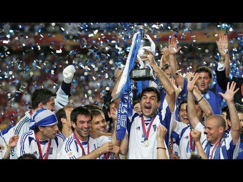 UEFA EURO 2004 ► Underdogs Greece - Kings of Europe HD