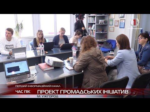В Ужгороді презентували проекти, подані на громадський бюджет