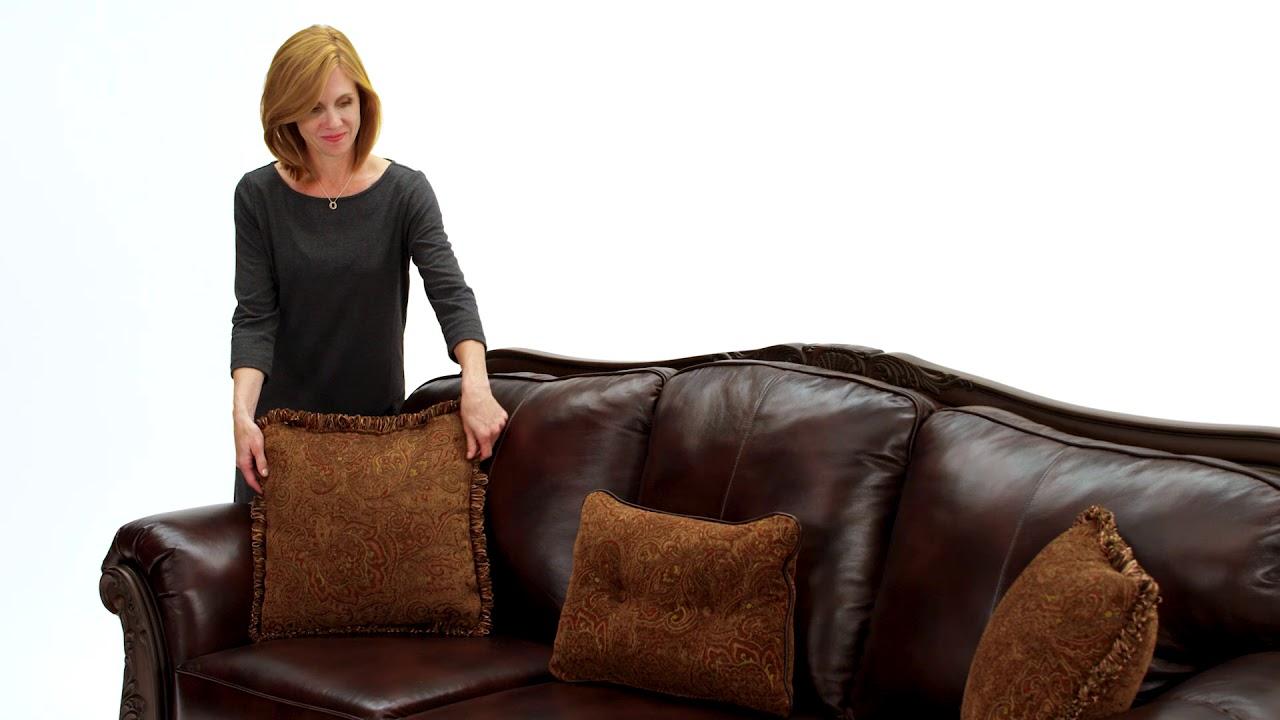 Ashley Homestore North Shore Sofa Youtube
