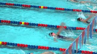 Callie 50m backstroke lane 4 (5-4-13)