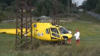 Mentőhelikopterrel szállították korházba a kiskunmajsai lakost