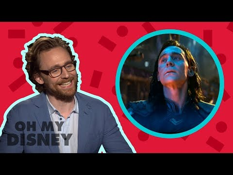 Tom Hiddleston Answers All of Our Questions About Loki  Oh My Disney  by Oh My Disney