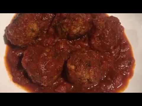 boulettes-de-viande-hachÉe-À-la-sauce-tomate