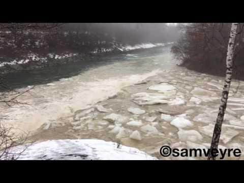 Ice Flashflood Zulg Steffisburg