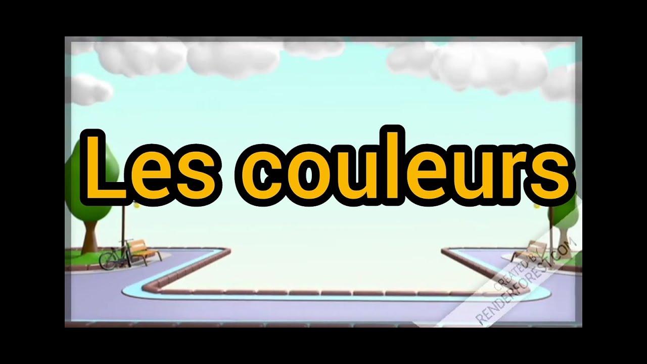 طريقة جميلة لتعلم الألوان بالفرنسية Youtube