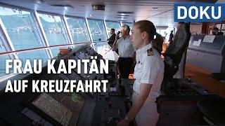 Frau Kapitän auf Kreuzfahrt (Deutschlands erste Kreuzfahrtkapitänin) | hessenreporter