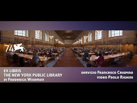 EX LIBRIS - THE NEW YORK PUBLIC LIBRARY di Frederick Wiseman