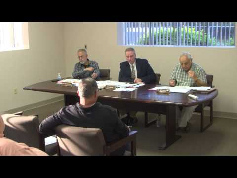 Sewer Commission Meeting 05/14/15