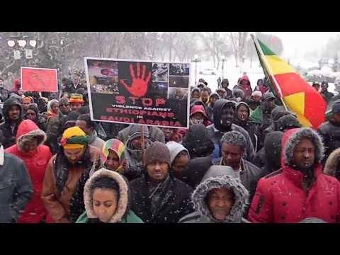 Protesting The Violence Against Ethiopians In Saudi Arabia #10