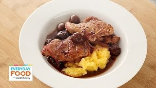 Pork With Cherry Sauce - Everyday Food With Sarah Carey