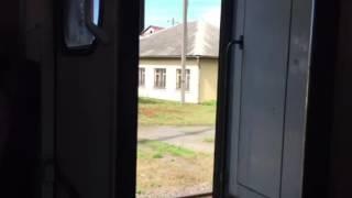 Электричка Львов Трускавец Экстрим на дороге