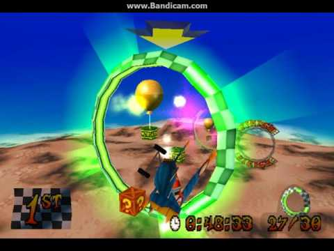 Rings of Power: Getting both Gems and a Platinum Relic at the same run - Crash Bandicoot 3: Warped