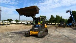 Sold! 2011 Volvo MCT125 Tracked Skid Steer Loader Aux Tractor bidadoo.com
