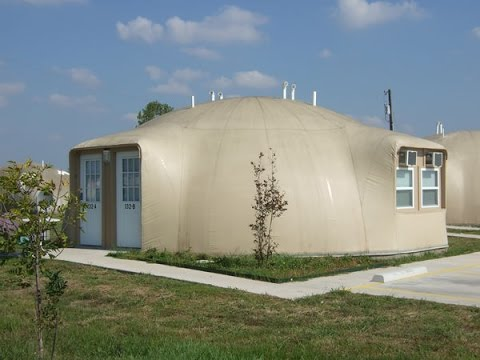 Monolithic Dome Homes – Fourplex - YouTube