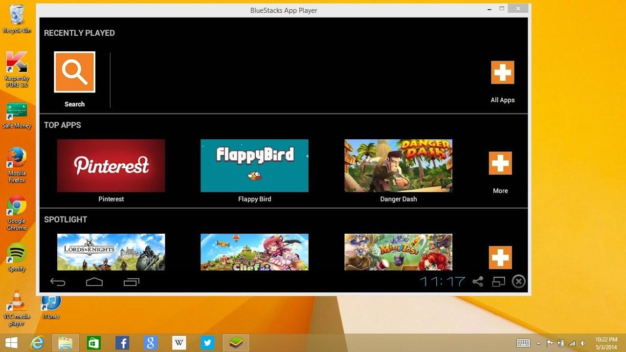 1gb ram android emulator - How To Install Bluestacks On Windows 8 1 With 1gb Ram