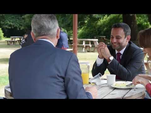 Bill Wakileh, President & CEO, Iraq & Levant, GE Interview at Cumberland Lodge