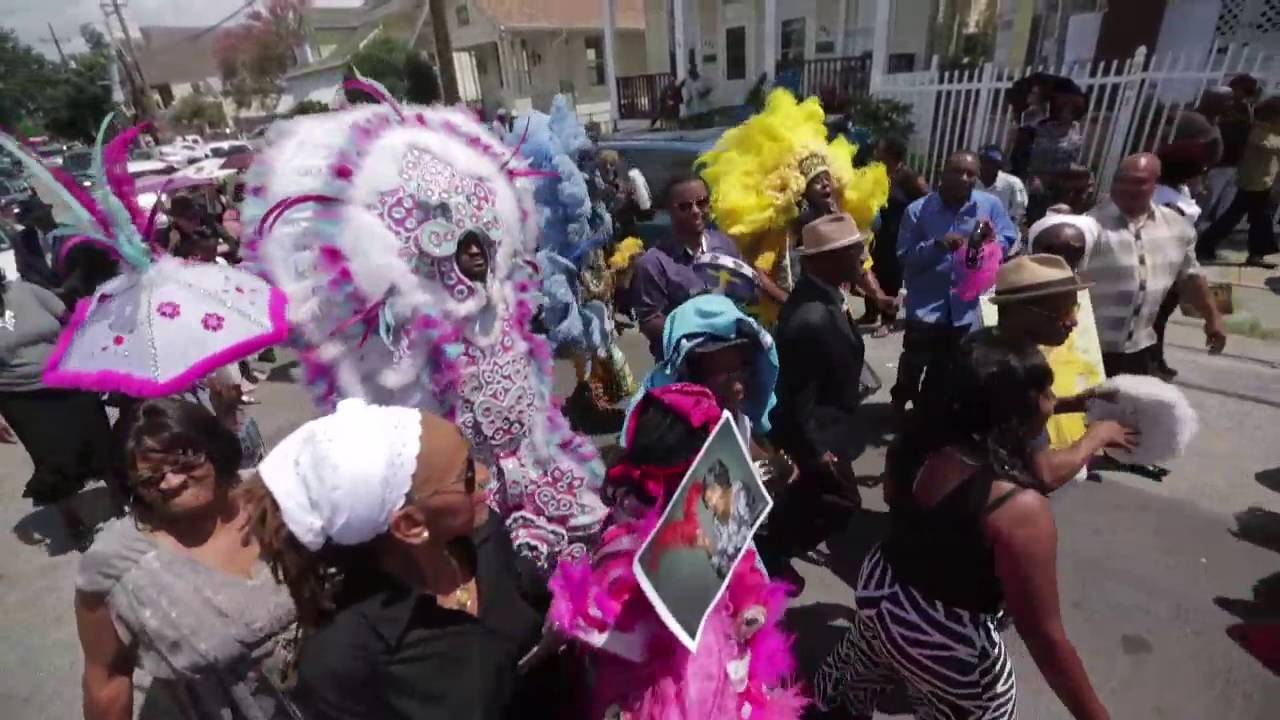 Funeral And Second Line For Queen Mercy Youtube