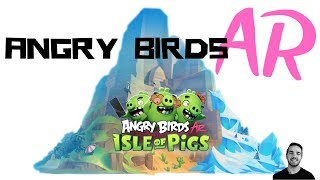 Angry Birds AR Augmented Reality Review -- Isle of Pigs for iOS