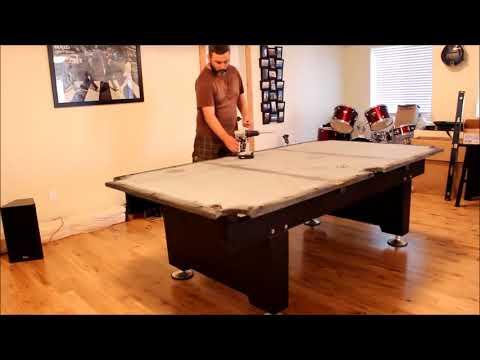 Вопрос: Как выровнять бильярдный стол?
