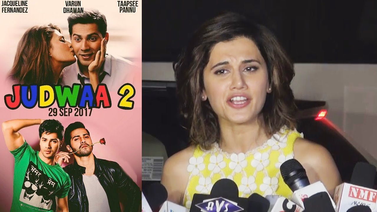 taapsee pannu opens on judwaa 2 with salman khan amp varun