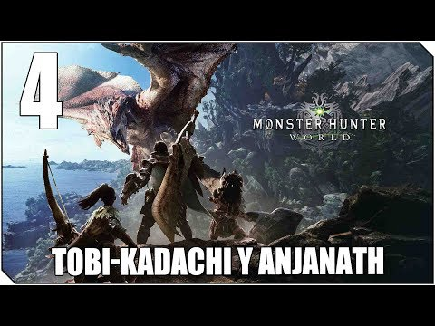 MONSTER HUNTER WORLD | PC | CAP 4 | Estos dos son muy difíciles!! Tobi Kadachi y Anjanath