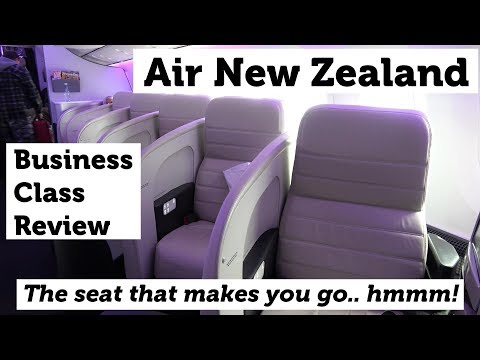 Air  New Zealand Business Class 787