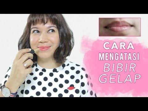 Tips Bibir Gelap Jadi Pink Alami!